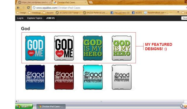 Featured Christian iPad designs